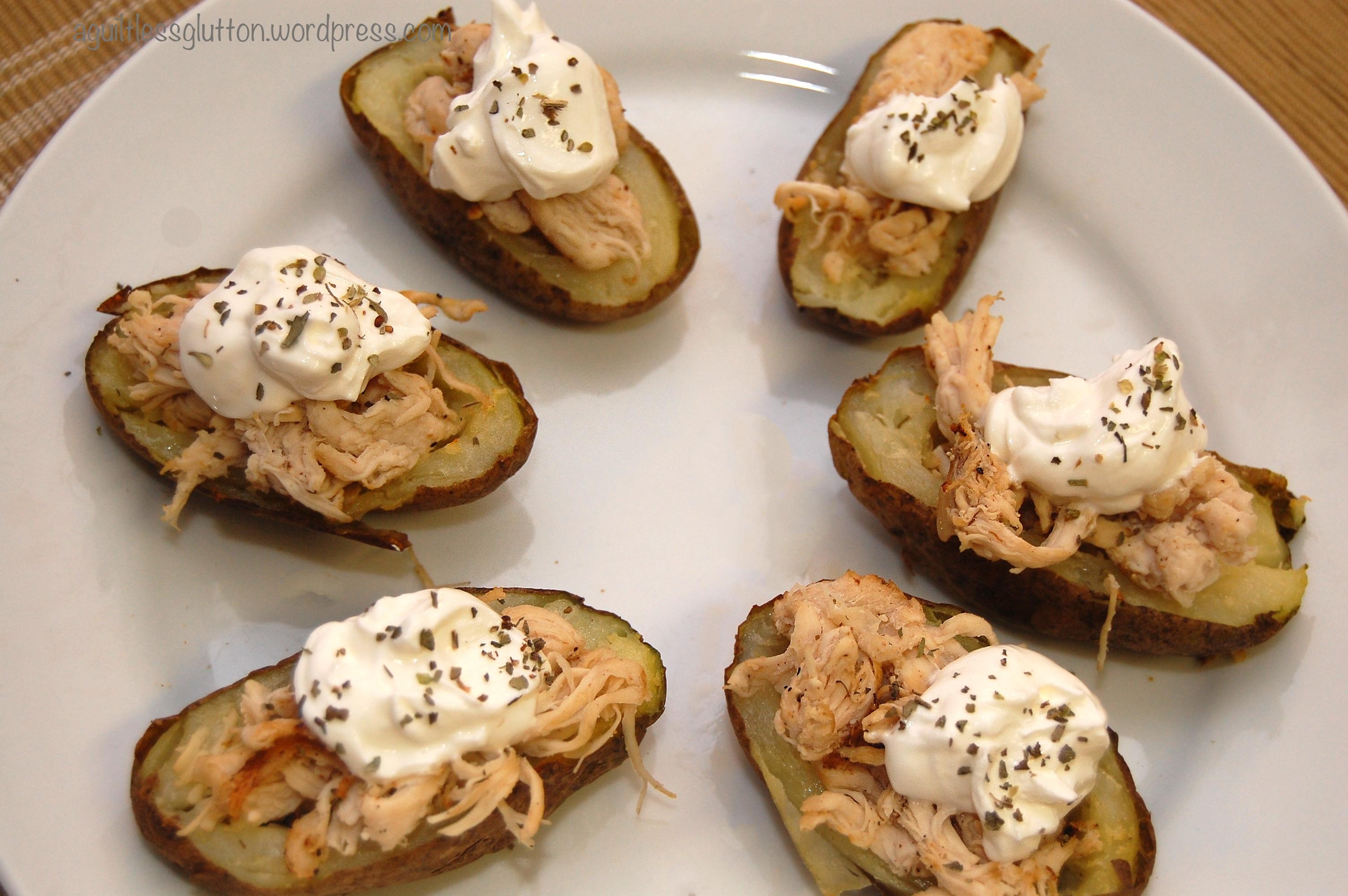 Greek-Style Potato Skins Recipes — Dishmaps